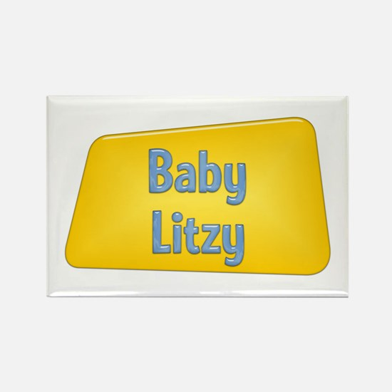 Baby Litzy Rectangle Magnet