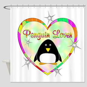 Penguin Lover Shower Curtain