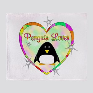 Penguin Lover Throw Blanket