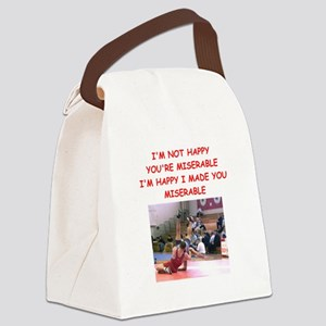 wrestling Canvas Lunch Bag