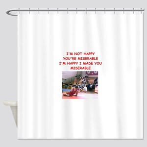 wrestling Shower Curtain