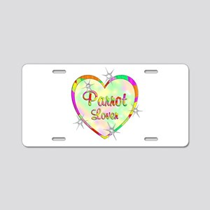 Parrot Lover Aluminum License Plate
