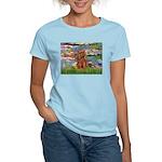Lilies and Ruby Cavalier Women's Light T-Shirt