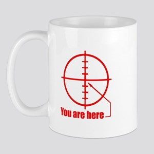 Gun sight Mug
