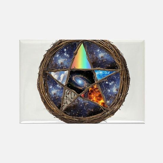 Pagan Rectangle Magnet