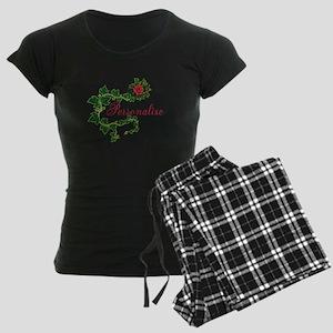 Personalizable. Ivy Rose Women's Dark Pajamas