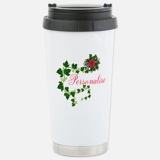 Personalizable. Ivy Ros Stainless Steel Travel Mug