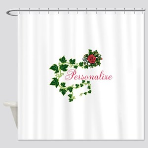 Personalizable. Ivy Rose Shower Curtain