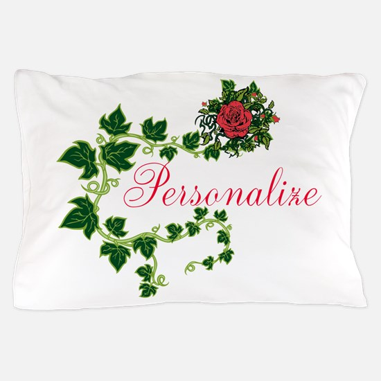 Personalizable. Ivy Rose Pillow Case