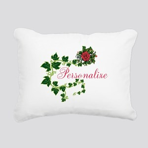 Personalizable. Ivy Rose Rectangular Canvas Pillow
