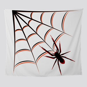 Scary Spider Wall Tapestry