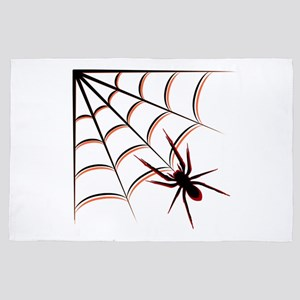 Scary Spider 4' x 6' Rug