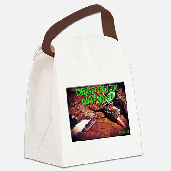 Unique Duck dynasty Canvas Lunch Bag