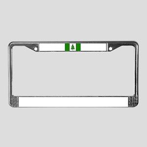 norfolk island flag License Plate Frame