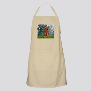 Lilies and Ruby Cavalier Apron