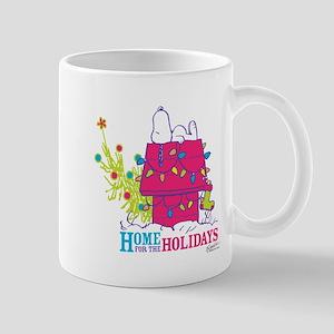 Snoopy: Home for the Holidays Mug