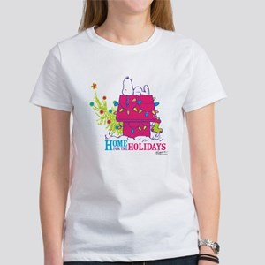 Snoopy: Home for the Holidays Women's T-Shirt