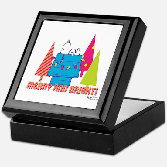Snoopy: Merry and Bright Keepsake Box