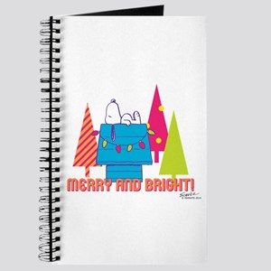 Snoopy: Merry and Bright Journal