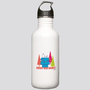 Snoopy: Merry and Brig Stainless Water Bottle 1.0L
