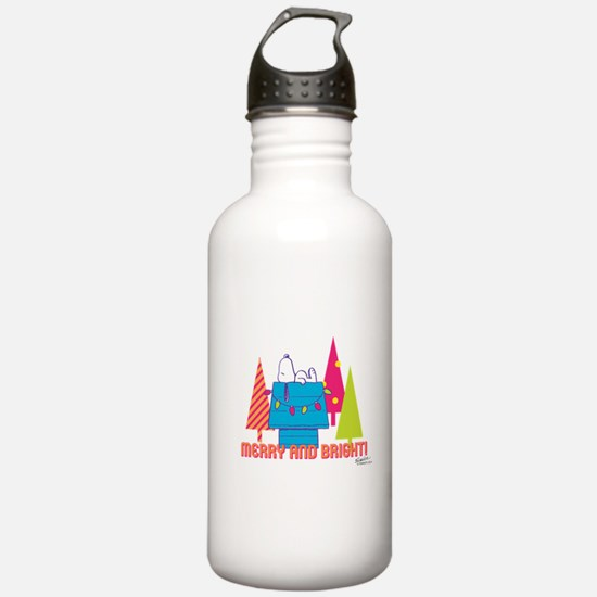 Snoopy: Merry and Brig Water Bottle