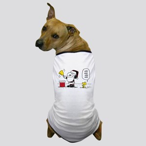 Santa Snoopy and Woodstock Dog T-Shirt