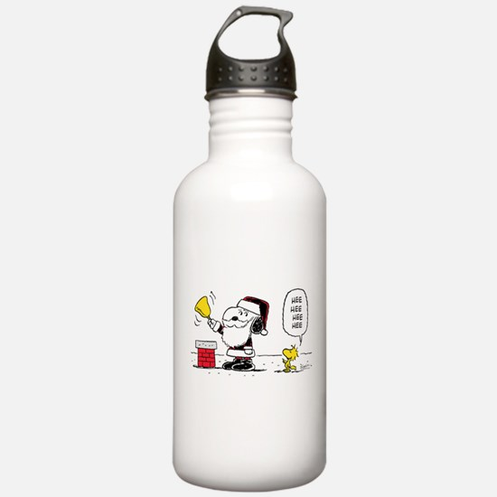 Santa Snoopy and Woods Water Bottle