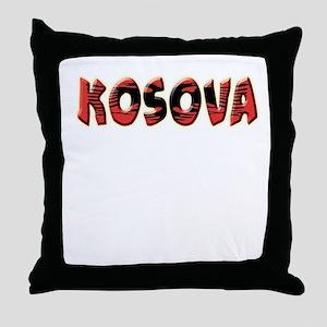 Albanian Cities Throw Pillow