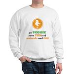 Go Veggie 2 Sweatshirt