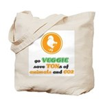 Go Veggie 2 Tote Bag