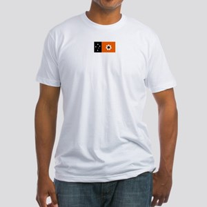 northern territory flag Fitted T-Shirt
