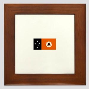 northern territory flag Framed Tile