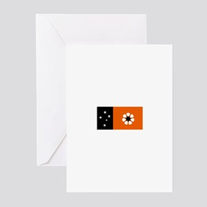 northern territory flag Greeting Cards (Package of