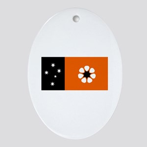 northern territory flag Oval Ornament