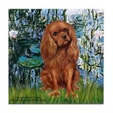 Cavalier king charles spaniel mom Coasters