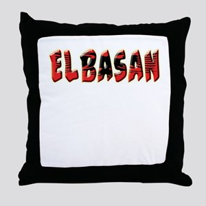 Albanian Cities Throw Pillow