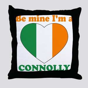 Connolly, Valentine's Day Throw Pillow