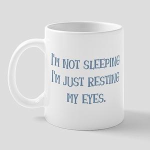 Resting My Eyes Mug