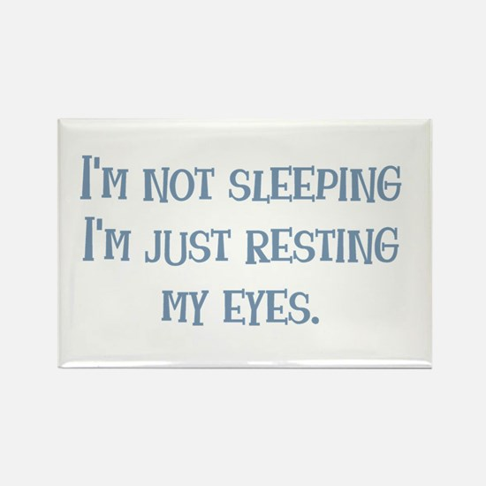 Resting My Eyes Rectangle Magnet