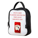 SHUFFLE Neoprene Lunch Bag