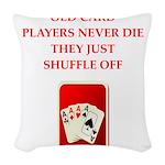 SHUFFLE Woven Throw Pillow