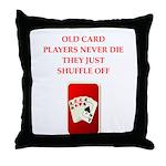 SHUFFLE Throw Pillow