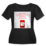 SHUFFLE Plus Size T-Shirt