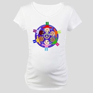 World Peace Maternity T-Shirt
