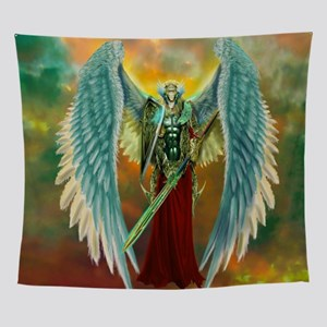 Archangel Michael Wall Tapestry