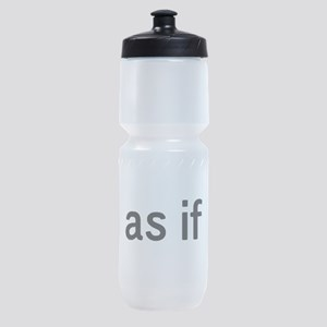 As If Sports Bottle