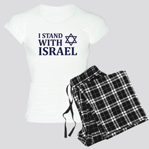 I Stand with Israel Women's Light Pajamas