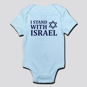 I Stand with Israel Infant Bodysuit