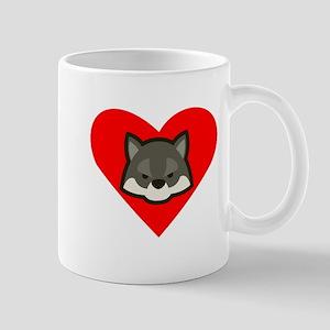 Wolf Heart Mugs