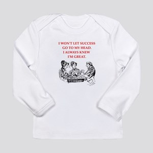 card player Long Sleeve T-Shirt
